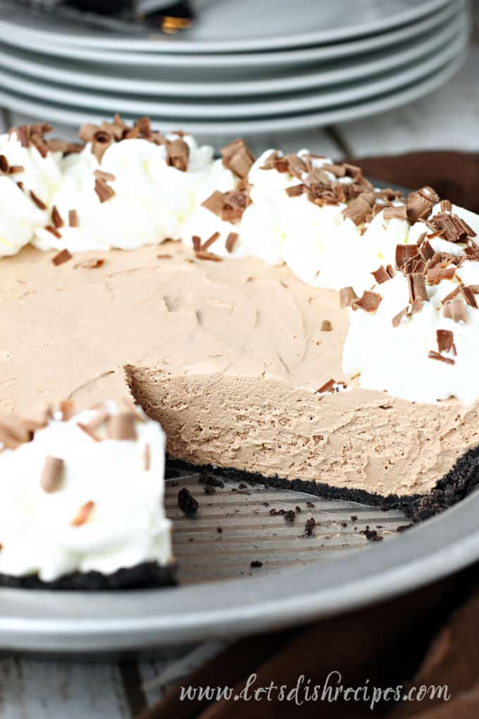 German Sweet Chocolate Pie