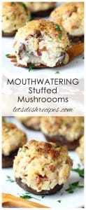 Mouthwatering Stuffed Mushrooms