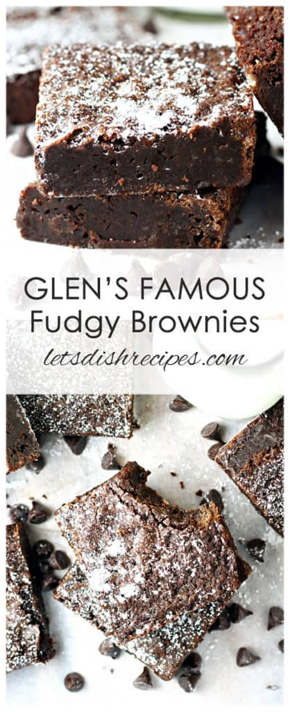 Glen's Famous Fudgy Brownies