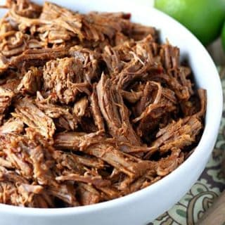 Slow Cooker Shredded Beef for Burritos