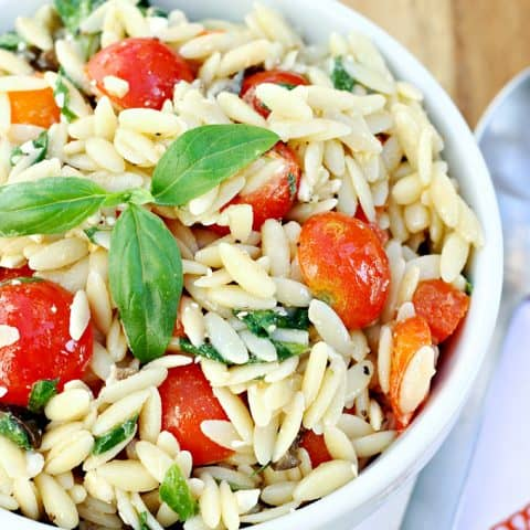 Mediterranean Orzo Salad — Let's Dish Recipes