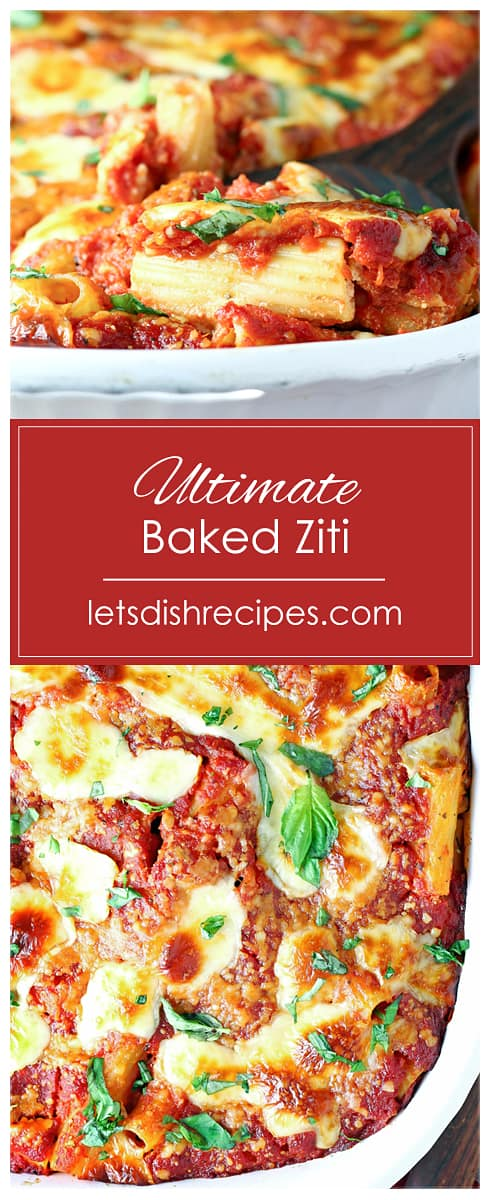 Ultimate Baked Ziti