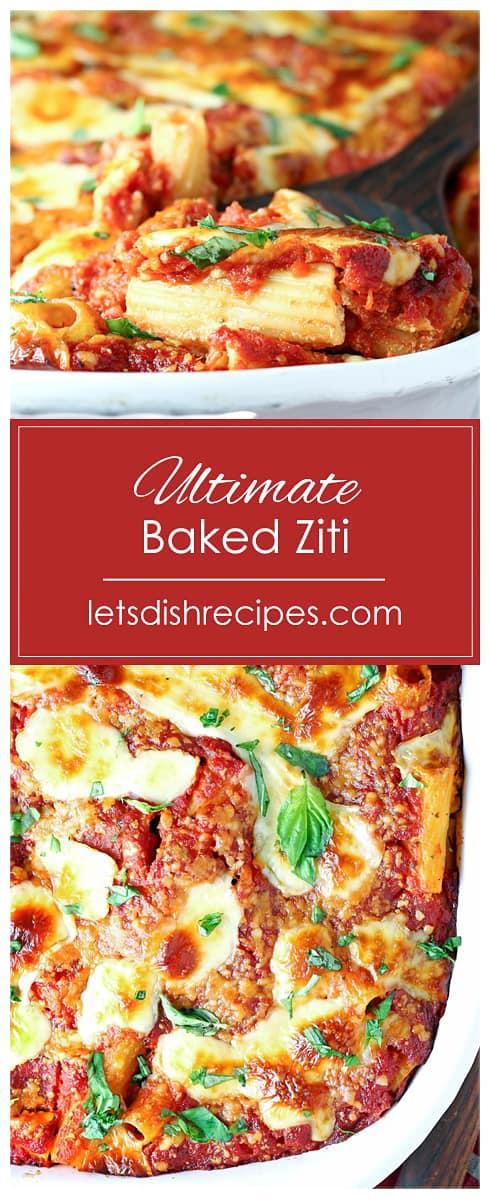 Ultimate Baked Ziti