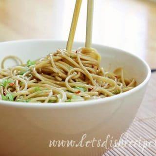Easy Sesame Noodles