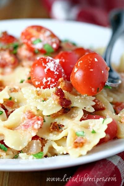 BLT Pasta