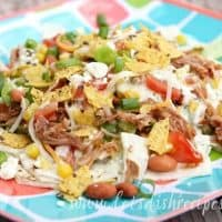 Cafe Rio Shredded Pork Salad