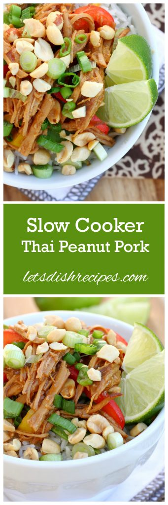 Thai Peanut Pork Pin
