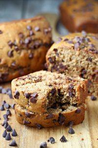 Best Ever Pumpkin Chocolate Chip Bread