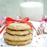 Raspberries and Cream Cookies