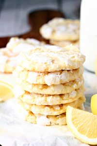 Award Winning Lemon Crinkle Cookies