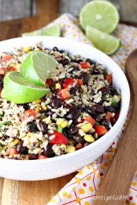 Southwest Quinoa and Rice Salad