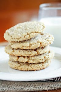 Browned Butter Sugar Cookies