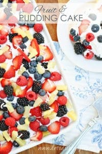 Fruit and Pudding Cake