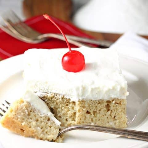 Homemade Tres Leches Cake