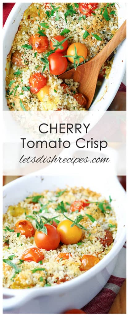 Cherry Tomato Crisp