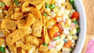 Chili Cheese Fritos Corn Salad