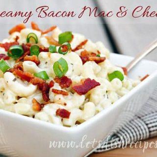 Creamy Bacon Mac & Cheese