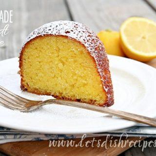 Lemonade Bundt Cake