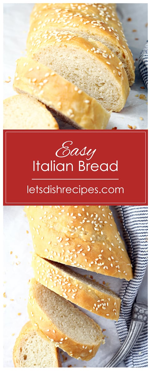 Easy Italian Bread