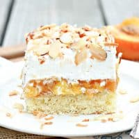 Better Than Anything Peach Cake