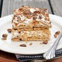 No-Bake Apple Pie Icebox Cake