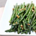 Easy Sauteed Garlic Asparagus