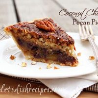 Coconut Chocolate Pecan Pie