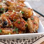 Spicy Baked Orange Chicken Wings