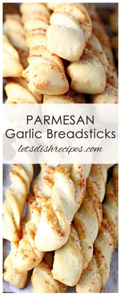 Parmesan Garlic Breadsticks