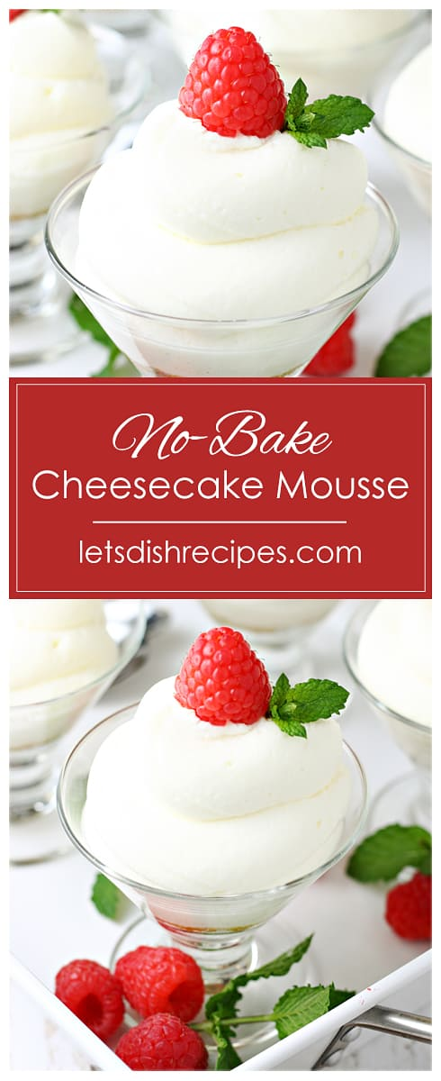 No-Bake Cheesecake Mousse