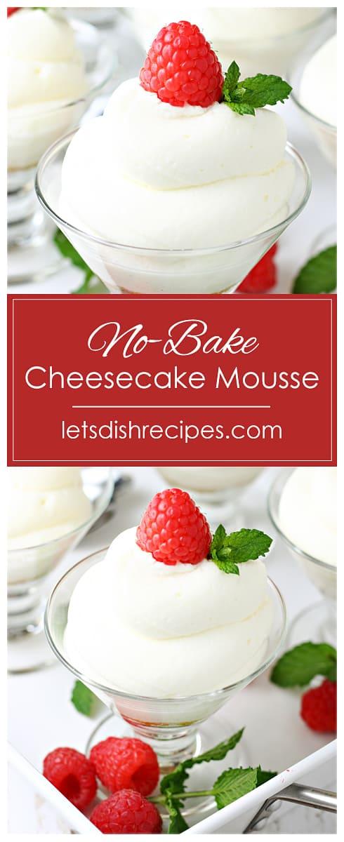 No-Bake Cheesecake Mousse