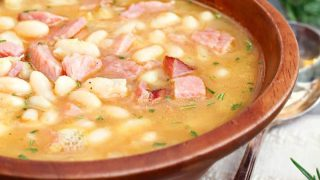 Ham and Bean Soup with Rosemary