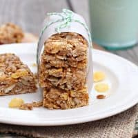 No-Bake Honey Oat Granola Bars
