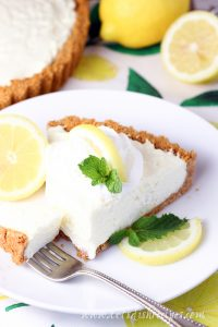 Easy No-Bake Lemon Tart