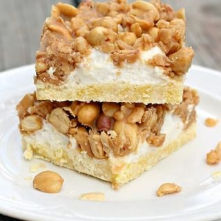Salted Nut Roll Bars