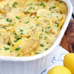 Lemon Chicken Potato Casserole