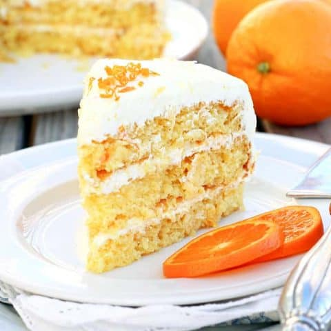 Easy Pineapple Orange Layer Cake
