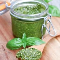 Almond Basil Pesto