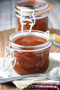 Roasted Rhubarb Barbecue Sauce