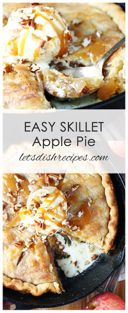 Quick & Easy Skillet Apple Pie