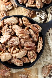 Spiced Candied Nuts