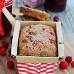 Cranberry Pistachio Bread with Bob's Red Mill Flour
