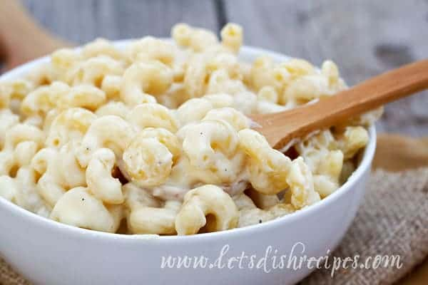 Five Cheese, Fifteen Minute Stovetop Mac & Cheese