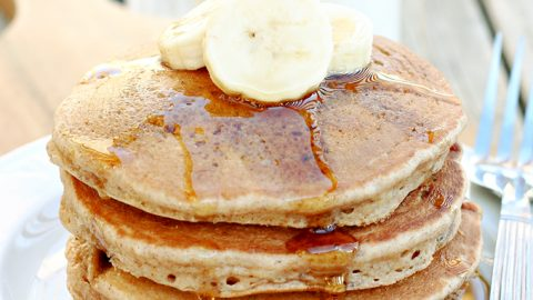 Banana Bread Pancakes: If you love banana bread, then you're going to love these pancakes, loaded with banana