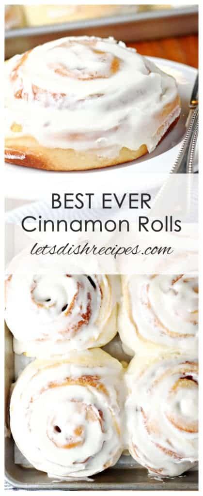 Best Ever Cinnamon Rolls