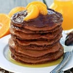 Chocolate Orange Nutella Pancakes