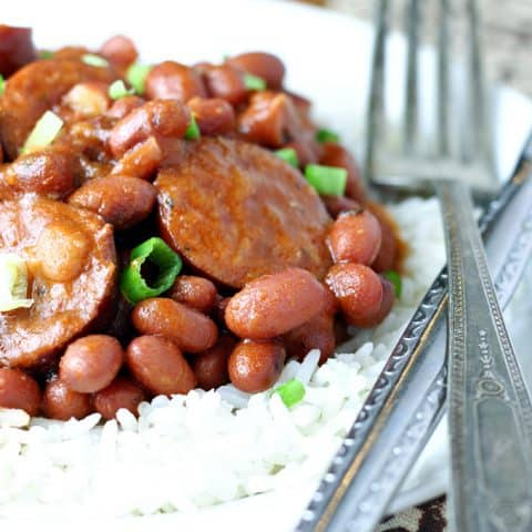 Red Beans and Rice (Slow Cooker)