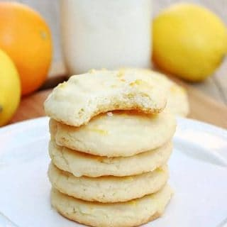 Citrus Doodle Cookies