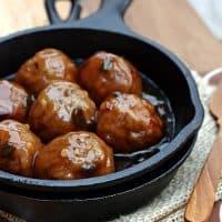 Cherry Cola Jalapeno Meatballs