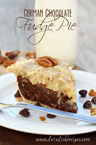 German-Chocolate-Fudge-Pie